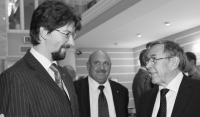 Адвокат Федор Куприянов и  советник президента Путина Вениамин Яковлев