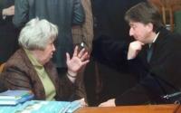 Алексей Куприянов и председатель Московского арбитражного суда Алла Большова