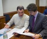 Защитник Федор Куприянов и подзащитный Григорий Пирумов